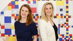 Foto Lisanne Halleriet en Judith Kadee